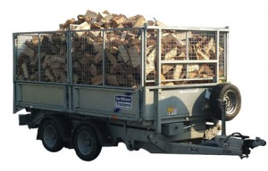 Trailer Of Logs