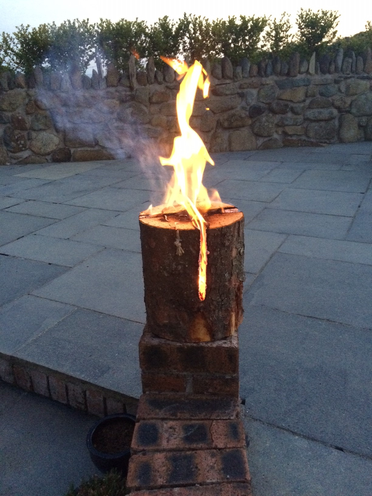 Swedish Torch Perfect For Camping And Beach Fires