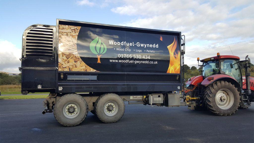 Wood Chip Blower Gwynedd Wales