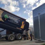 Woodfuel Gwynedd Blower delivery system