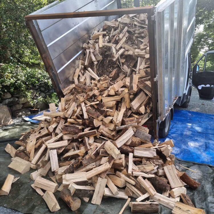 Firewood Via Tipper